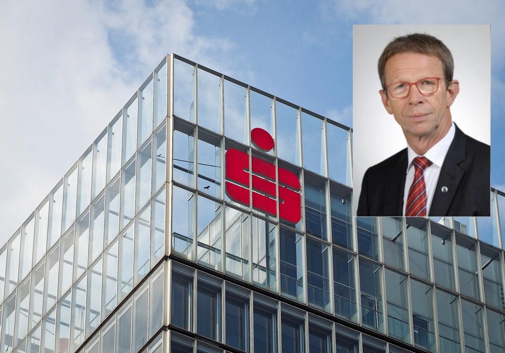Oberbürgermeister Klaus Mohrs ist der Meinung, dass der Service der Sparkasse hervorragend bleibt. Fotos: pixabay/Stadt Wolfsburg