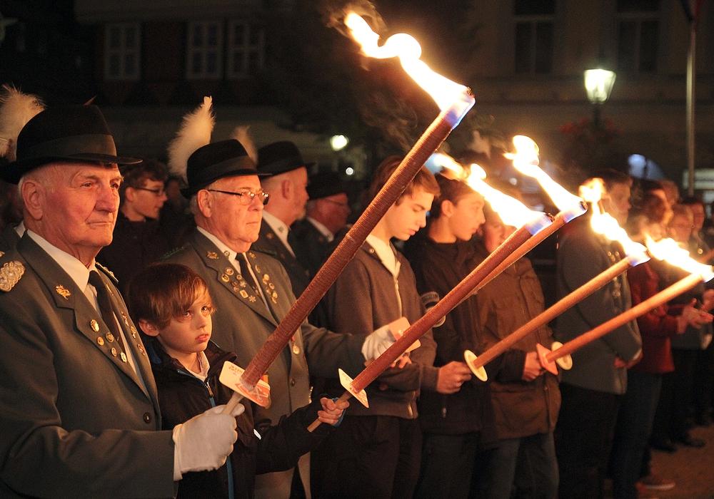 Der Zapfenstreich der Schützen wurde abgesagt. Foto: Archiv/Thorsten Raedlein