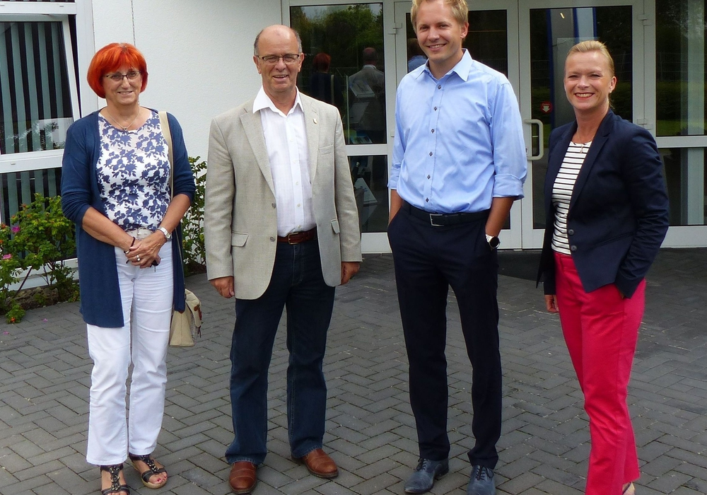 Ute Baars, Harald Koch, Christian Auerswald und Dunja Kreiser. Fotos: privat