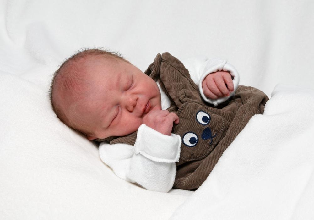 Willkommen, Arthur Theuner. Foto: babysmile24.de
