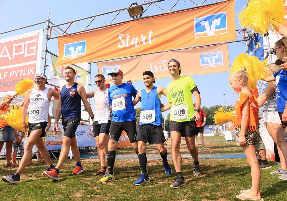 Teilnehmer des 24-Stunden-Laufs. Foto: Lauftreff Salzgitter