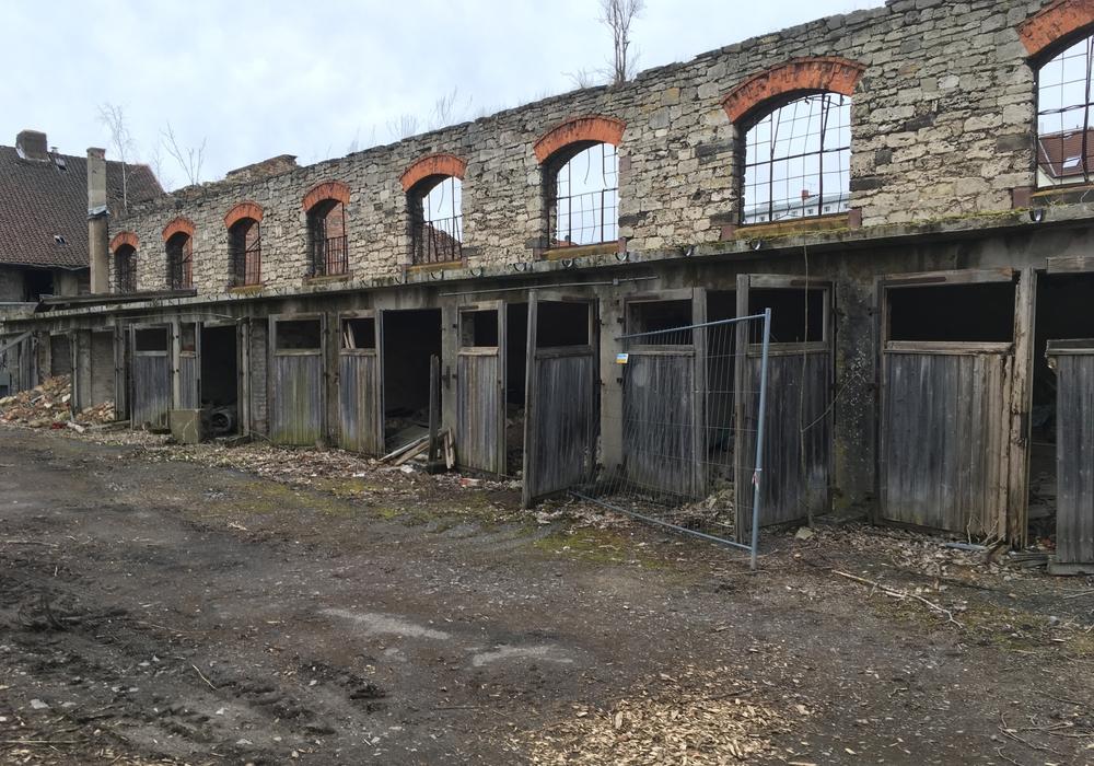 Die nördlichen Gebäudeteile sollen abgerissen werden. Fotos: Alexander Dontscheff