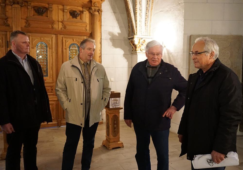 Volker Meier, Frank Oesterhelweg, Friedrich Deichmann und Gerhard Fink, Foto: Privat