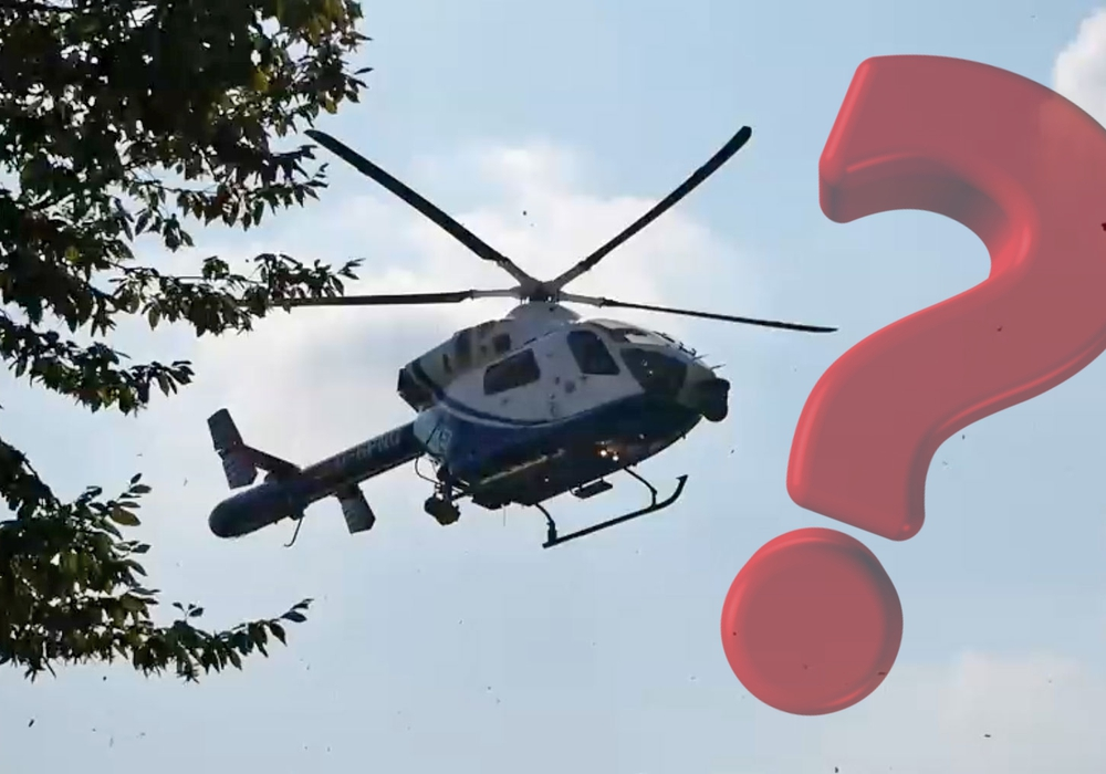 Gestern Nacht kreiste ein nicht näher identifizierter Helikopter über Wolfenbüttel. Symbolfoto: Alexander Panknin/Pixabay