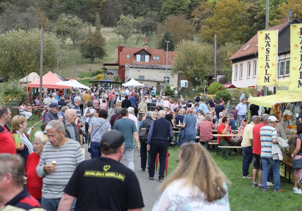 Bei bestem Wetter war das Apfelfest wieder gut besucht. Fotos: Rudolf Karliczek