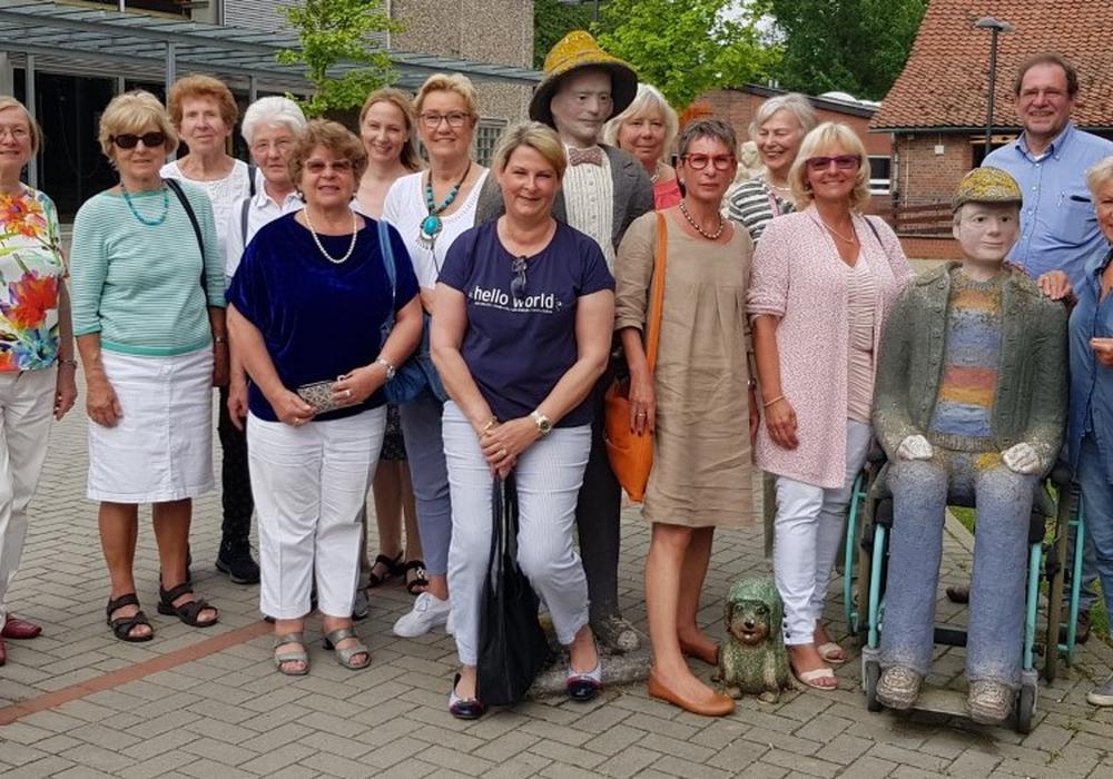 Die Frauen Union Wolfenbüttel während ihres Besuches der Evangelischen Stiftung Neuerkerode. Foto: Privat