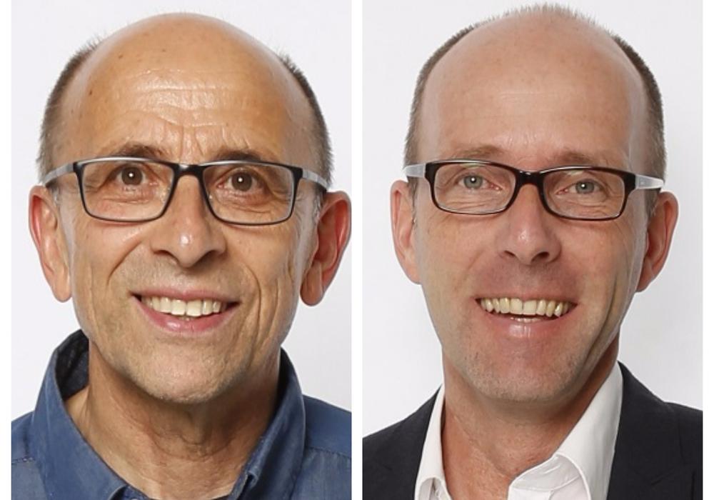 Dr. Wolfgang Büchs (li.) und Niels Salveter. Fotos: BIBS