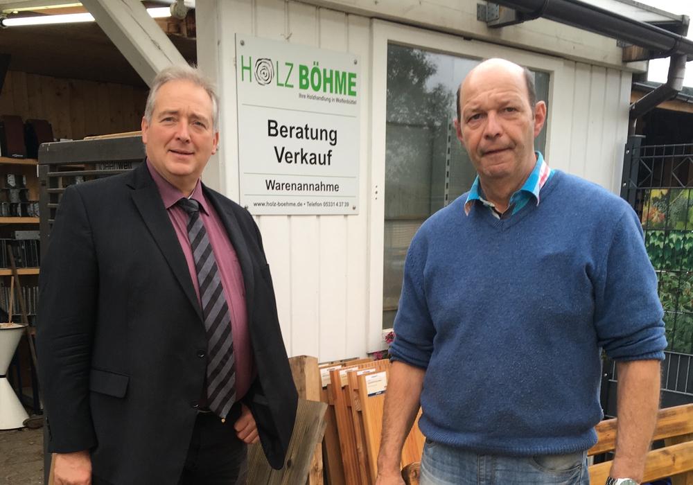 Frank Oesterhelweg und Martin Andree. Photo: Andreas Glier.