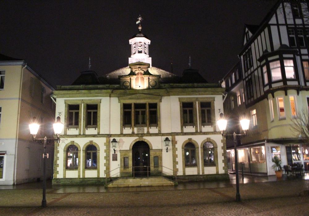 Das alte Rathaus steht zurzeit leer. Foto: Frederick Becker