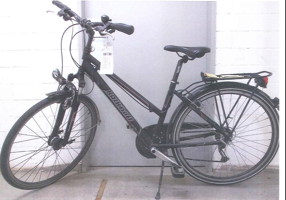 Die Polizei sucht nach den Besitzern dieses Fahrrads. Foto: Polizei