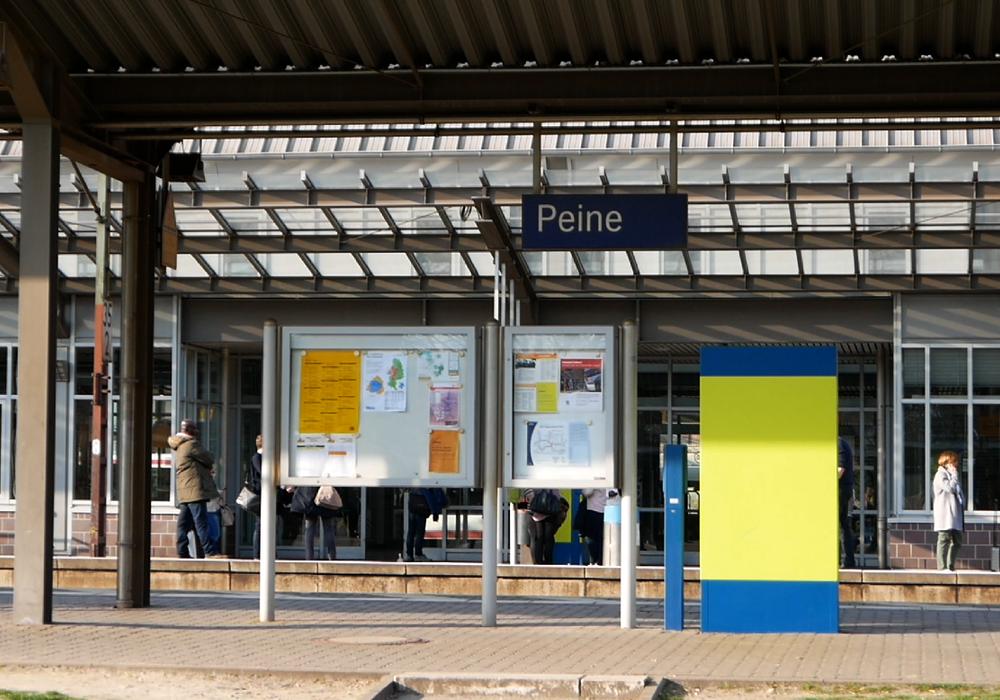 Das Gebiet um den Peiner Bahnhof wird Schauplatz der Demos am Samstag. Foto: Alexander Panknin
