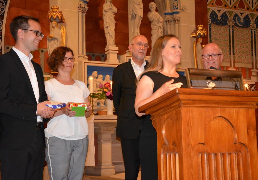 Pastorin Dr. Heidrun Gunkel wurde feierlich ins Amt eingeführt. Foto: Evangelisch-Lutherischer Kirchenkreis Peine