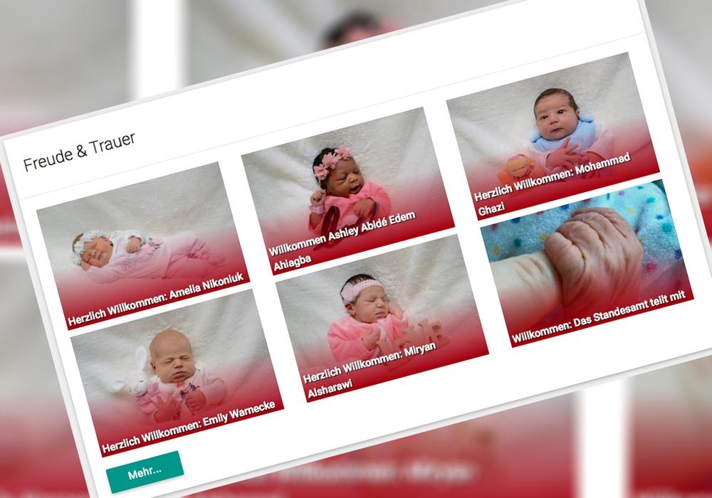 In unserer Freude-Rubrik präsentieren wir unsere neugeborenen Leser. Foto: Werner Heise, babysmile24.de