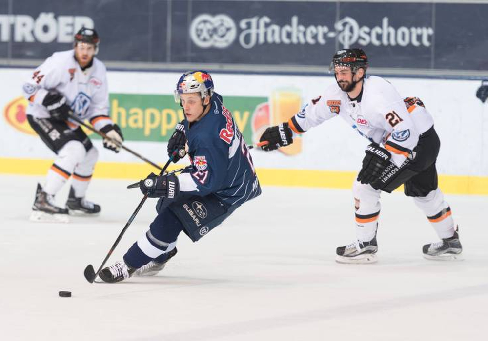 Domini Kahun bezwang die Grizzlys per Sudden Death-Tor in der 97. Minute. Foto: imago / GEPA pictures