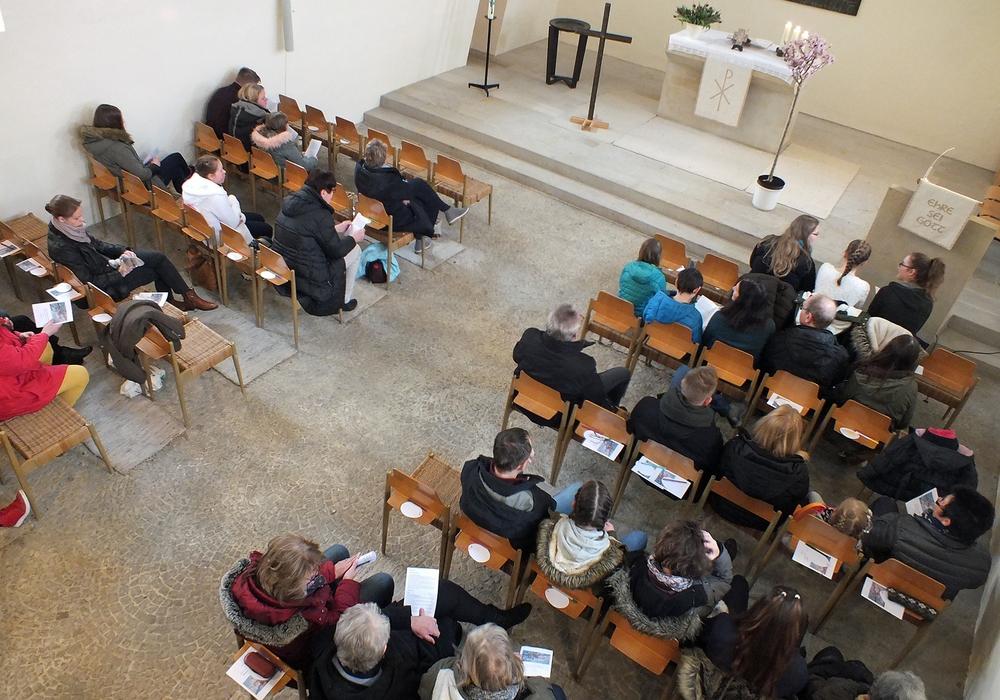 Österlicher Familiengottesdienst der Georg-Calixt-Gemeinde in St. Michaelis. Fotos Achim Klaffehn