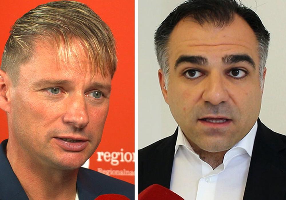 Die SPD-Landtagsabgeordneten Stefan Klein und Dr. Christos Pantazis. Foto: regionalHeute.de