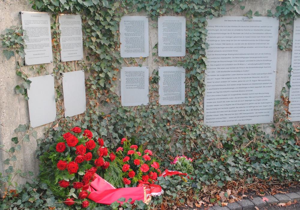 An der Schillstraße gibt es eine Gedenkstätte für die Opfer des Nationalsozialismus. Archivbild.