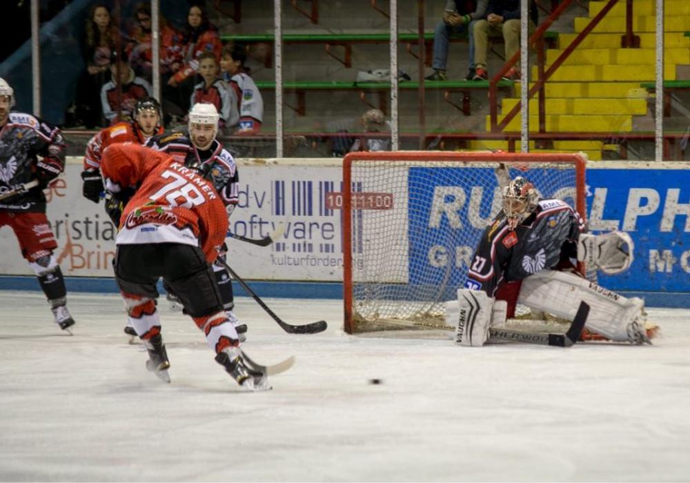 206 Mal stand Tobi Bannach im Kasten der Braunlager Eishockey-Teams. Foto: Harzer Falken