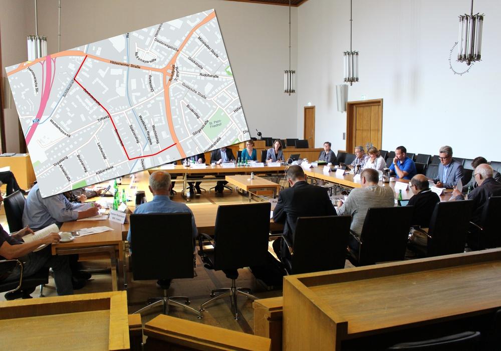 Die Lärmbelästigung auf Nebenstraßen war zuletzt ein Thema im Bauausschuss. Foto/Karte: Nick Wenkel/maps4news.com