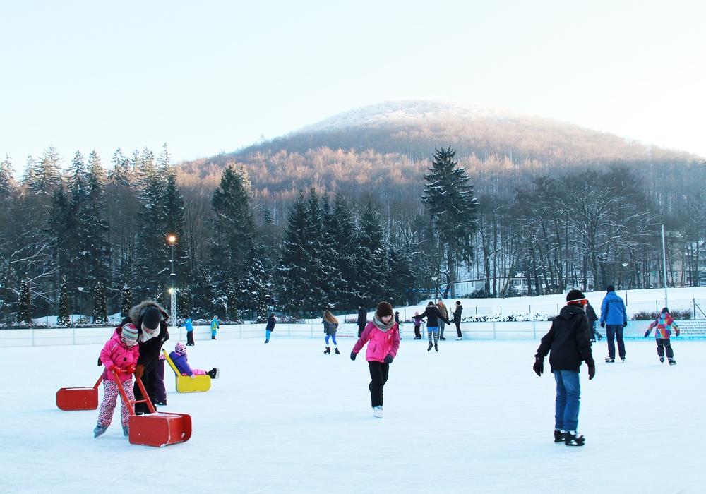 Dieses Wochenende bietet besonders viel Action im Harzer Winter für die Familien. Foto: Kur- Tourismus-  und Wirtschaftsbetriebe der Stadt Bad Harzburg GmbH