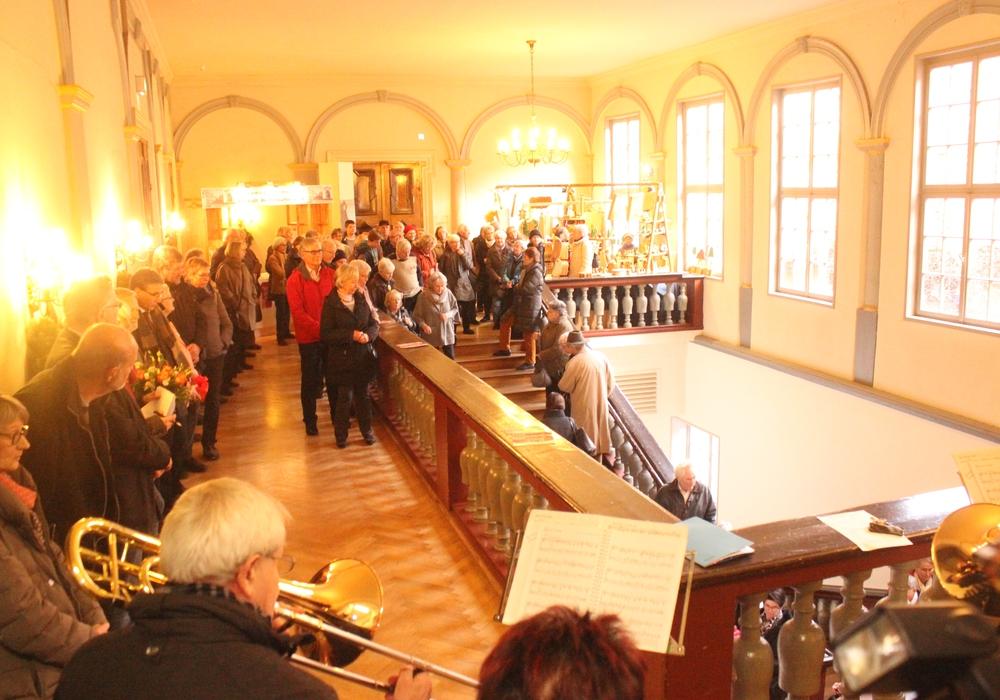 An diesem ersten Adventswochenende findet der Weihnachtsmarkt im Schloss statt. Fotos: Anke Donner