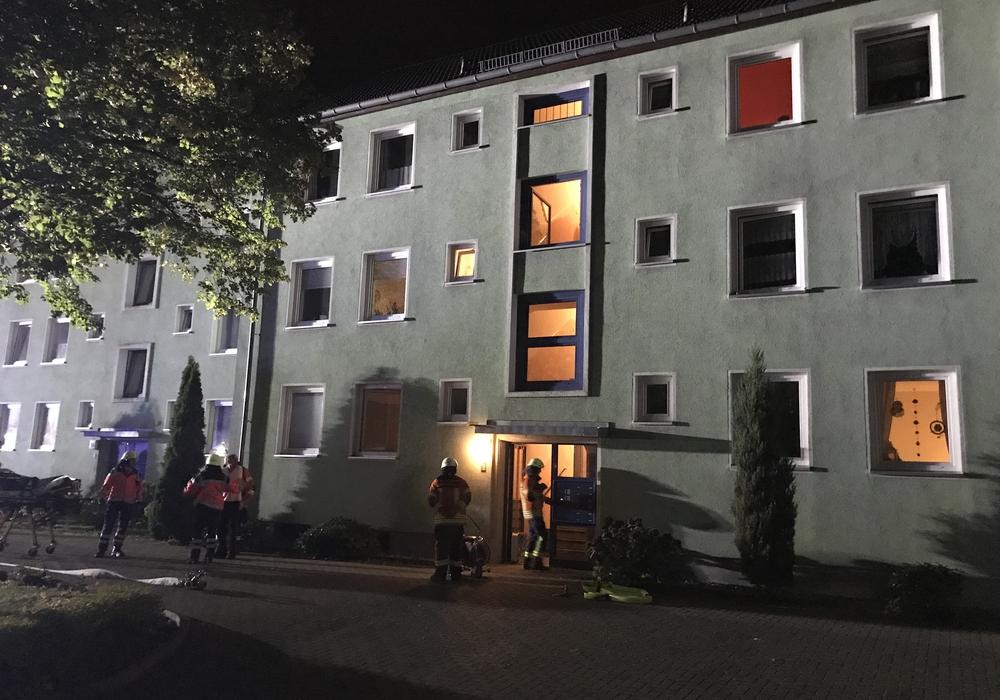 Die Feuerwehr wurde zu einem Einsatz in die  Reuterstraße gerufen. Foto: Feuerwehr Braunschweig