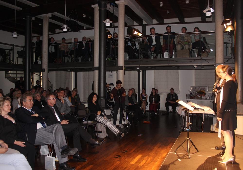 In der Schünmannschen Mühle fand am Dienstagabend die Feier zum 30. Geburtstag der  Bundesakademie für Kulturelle Bildung statt. Fotos: Anke Donner