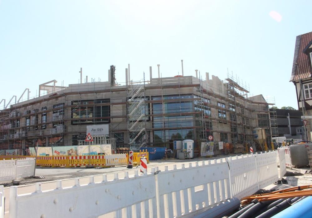 Die Baustelle im August 2019.  Foto: Marvin König