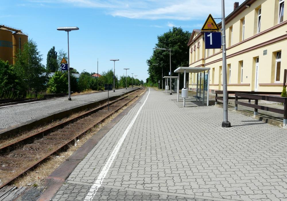 Der Bahnhof in Schöppenstedt im Jahr 2010. Foto: Regionalverband