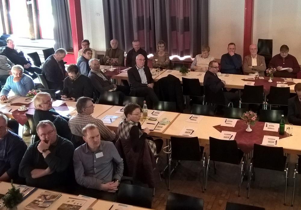 50 Teilnehmer hörten Vorträge zum Thema Hochwasserschutz. Foto: Privat