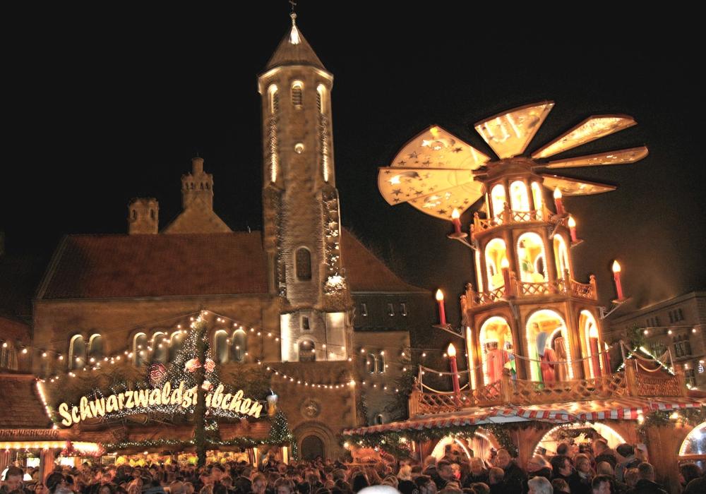 Der Weihnachtsmarkt in Braunschweig muss deutschlandweit keinen Vergleich fürchten. Foto: Siegfried Nickel