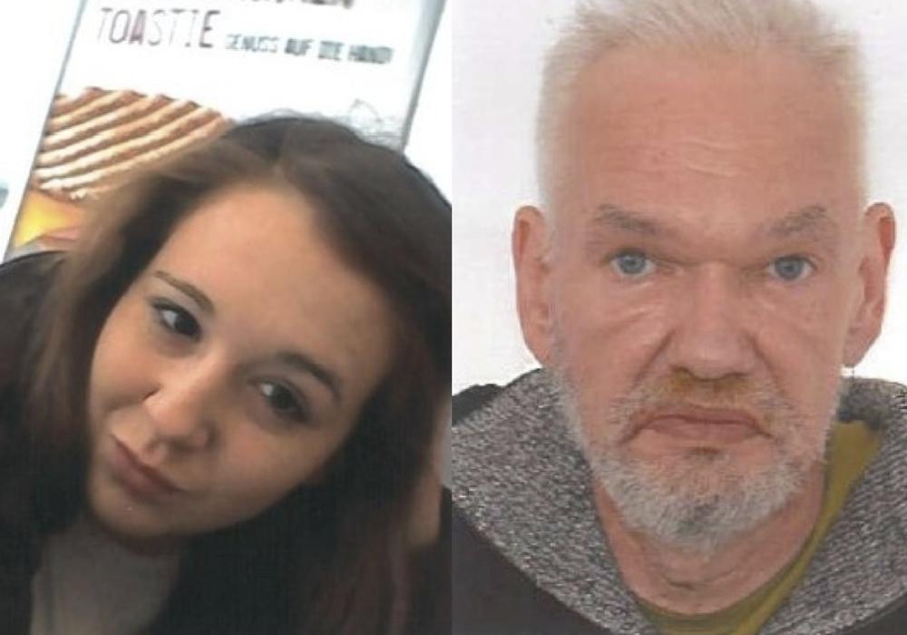 Noch immer gibt es von den beiden Vermissten Amera Selmanivic und Karl-Peter Fricke keine Spur. Fotos: Polizei