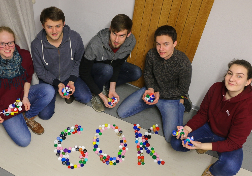 Die Ehrenamtlichen der Evangelischen Jugend Wolfenbüttel freuen sich über ihren Sammelerfolg. Foto: Propstei