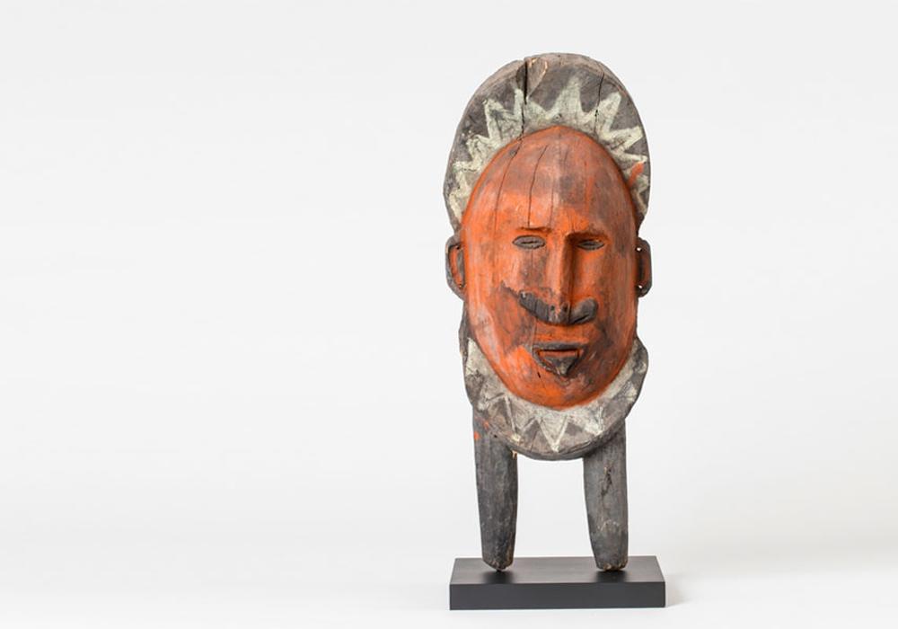 Ein Exponat aus der Sammlung von Torsten Uhde. Ein Exponat aus Papua Neuguinea. Foto: Lebenshilfe Braunschweig gemeinnützige GmbH
