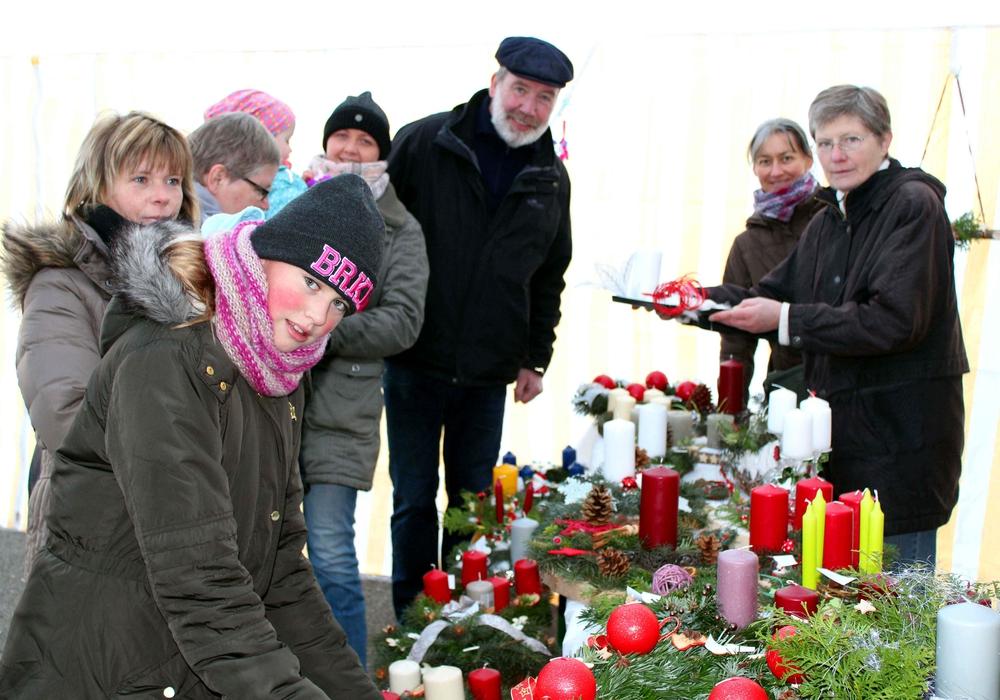 Der Basar war ein voller Erfolg. Foto: Bernd-Uwe Meyer