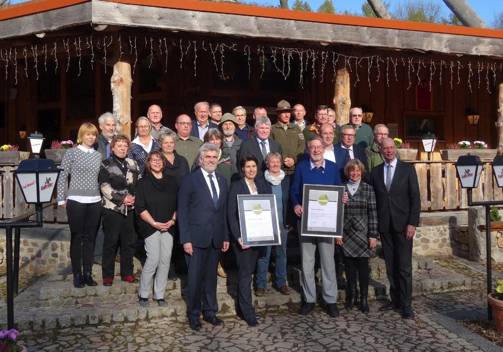 Harzer-Hexen-Stieg und Karstwanderweg wurden erneut ausgezeichnet. Foto: Harzer Tourismusverband e.V.