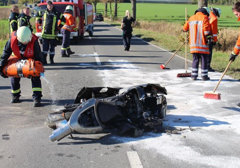 Immer wieder kommt es im Harz zu schweren Motorradunfällen. Symbolfoto: Robert Braumann