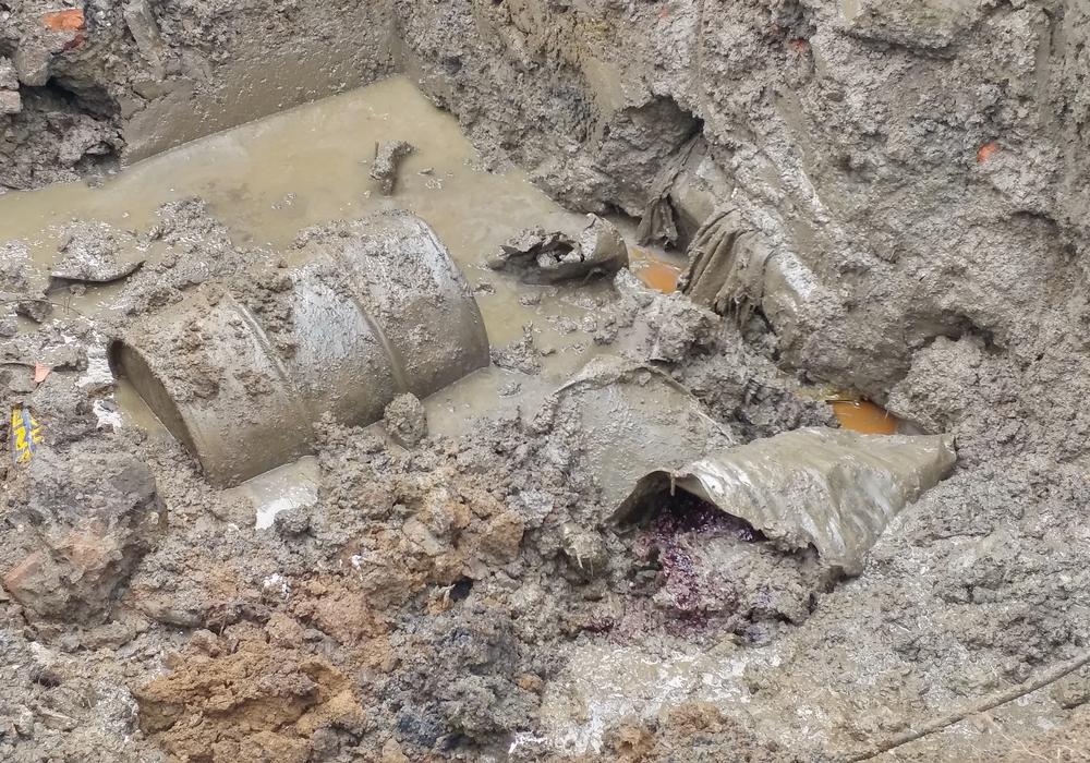 Der Fässerfund Ende Juni war leider kein Einzelfall. Im Zuge von Erkundungsmaßnahmen stießen die Gutachter auf weitere Fässer. Insgesamt wurden bislang 20 Fässer mit schadstoffhaltigem Inhalt geboren. Foto: Landkreis Goslar