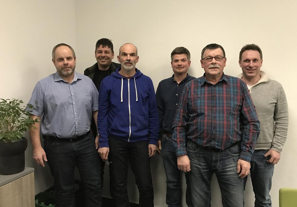 Maik Bartels, Karsten Paelecke, Wolfgang Puder, Felix Merl, Peter Pier und Ralf Melnicky Foto: Privat
