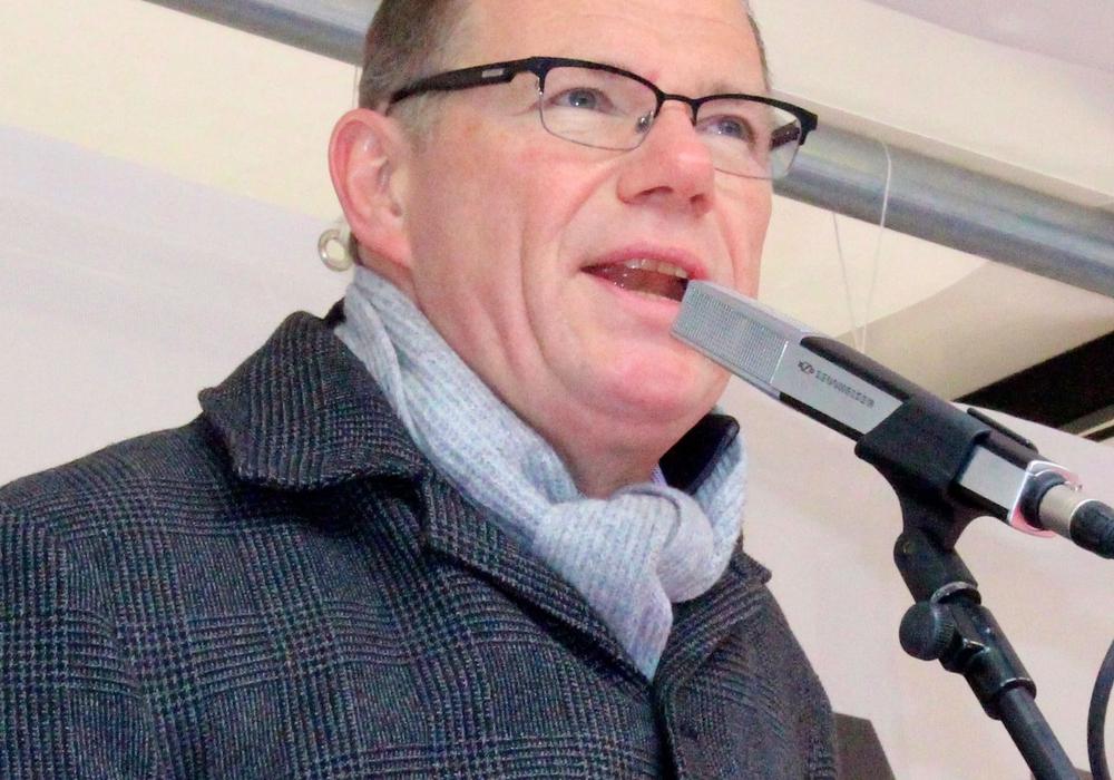 ver.di-Geschäftsführer Sebastian Wertmüller spricht sich im HBK-Konflikt für eine Vermittlung und extern geführte Mediation aus.  Archivfoto: Sina Rühland