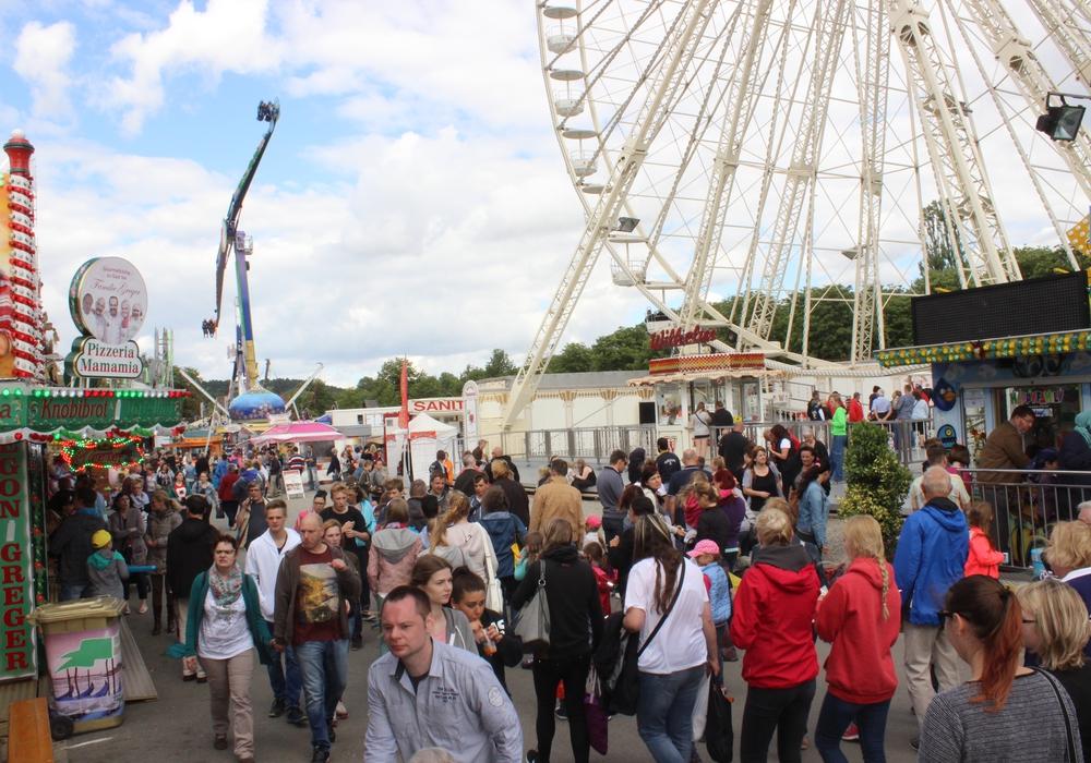 Das Schützenfest in Goslar wartet wieder mit neuen Attraktionen auf. Archivfoto: Anke Donner