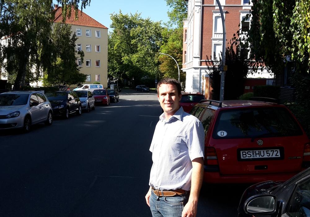 Die CDU befürchtet, dass sich durch den Wegfall von rund 50 Parkplätzen der Parkdruck auch auf den angrenzenden Straßen (Eulenstraße, Gartenstraße,Fuchstwete und Amalienstraße) verstärken wird. Foto: Henning Glaser