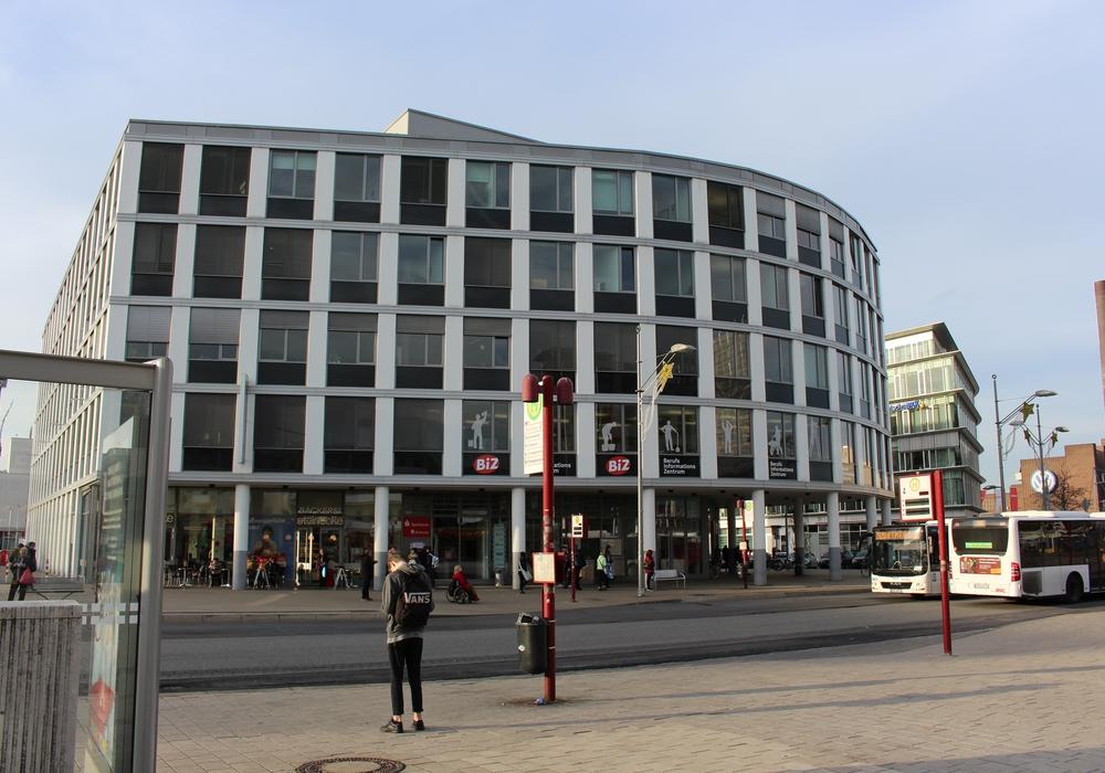 BiZ der Agentur für Arbeit Wolfsburg. Foto: Magdalena Sydow