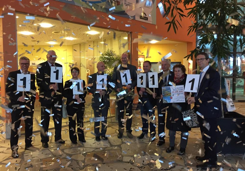 11.111.111ten Badegast im BadeLand Wolfsburg. Foto: Stadt Wolfsburg
