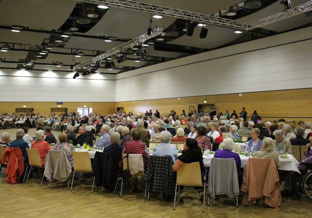 Der Tag der älteren Generation findet erneut in der Lindenhalle statt. Foto: Archiv/Max Förster