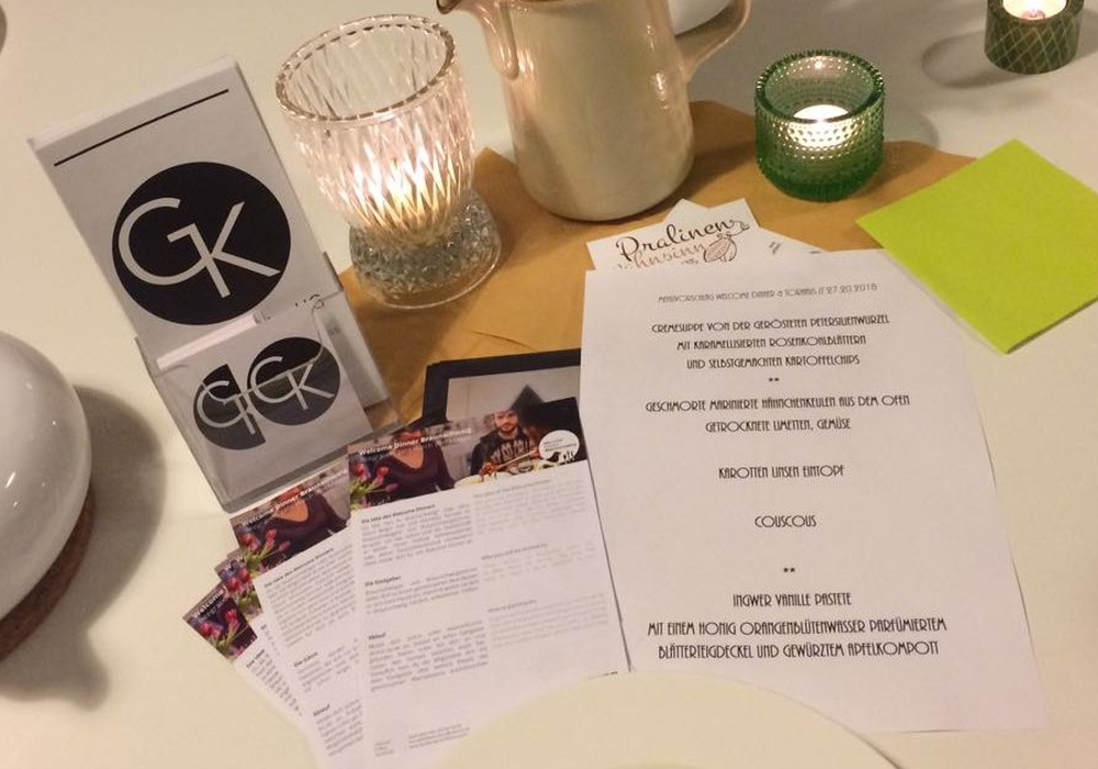 Foto: An 10 April steht wieder ein Welcome-Dinner an. Madina Rostaie