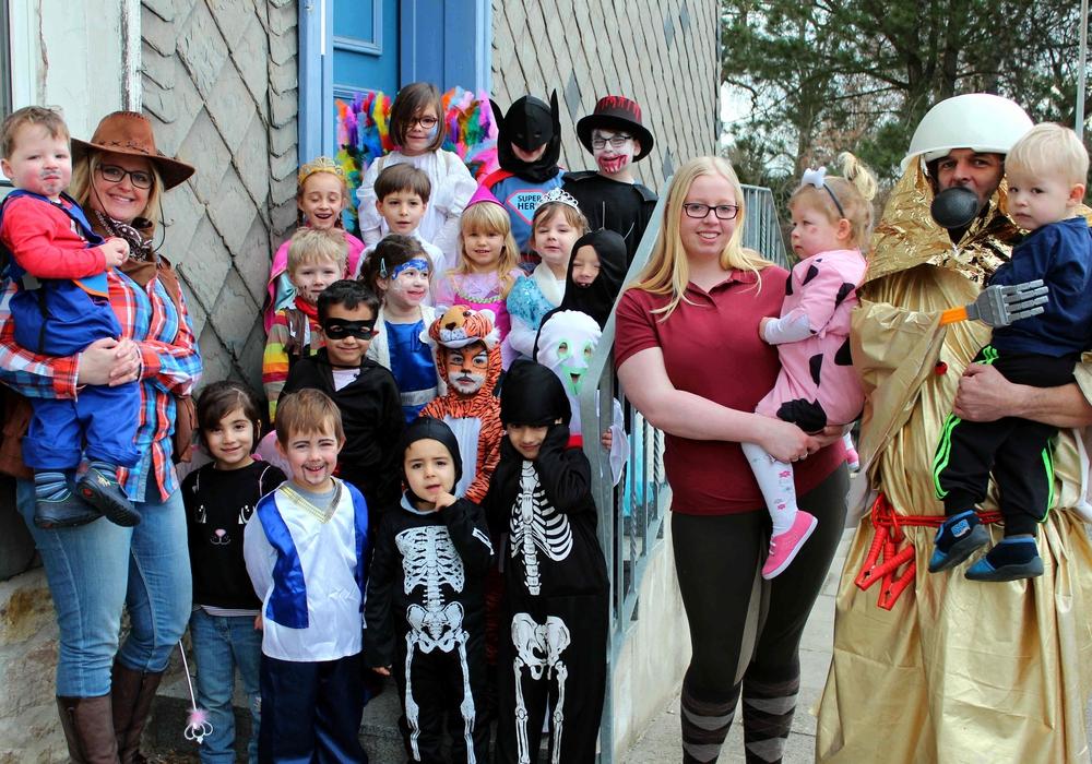 Die Rosenmontagsfeier im Roklumer Kindergarten war ein voller Erfolg. Foto: Bernd-Uwe Meyer