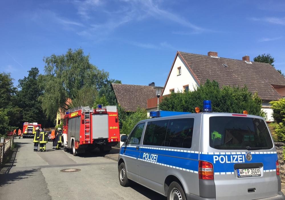 Feuerwehr und Polizei kamen nicht zum Einsatz. Foto: Anke Donner