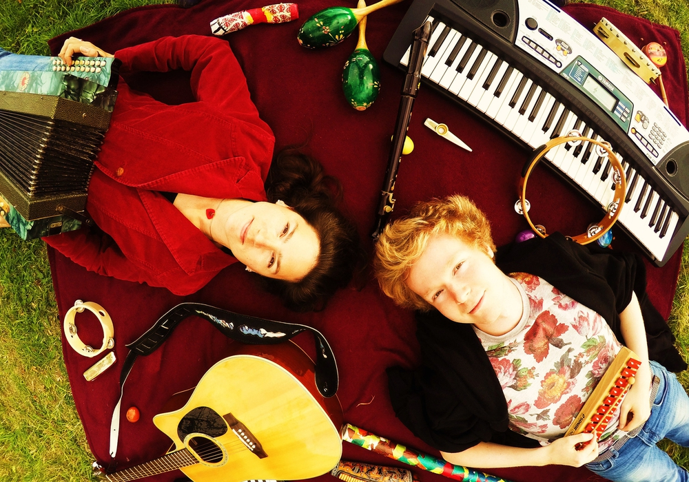 Das Akustik-Duo Catchy Tunes. Foto: privat