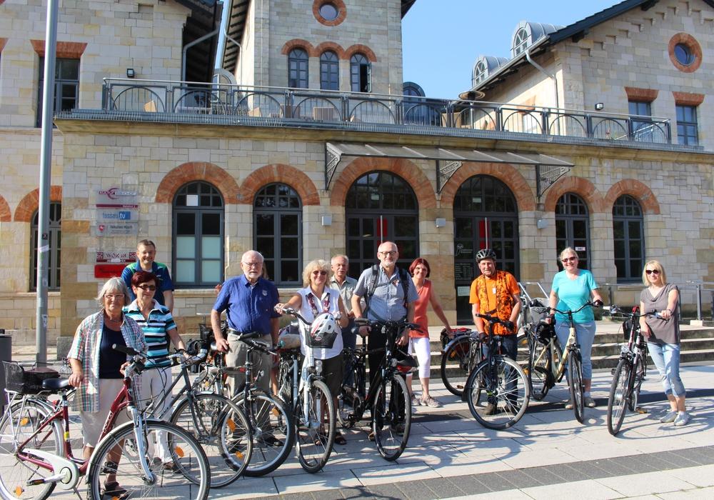 Radtour mit dem ADFC. Start ist am Bahnhof Wolfenbüttel. Foto: Jan Borner